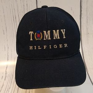 e2eb95bb Tommy Hilfiger Accessories | Vintage Deadstock Strapback Dad Hat ...